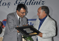 A Plaque From Governor Toprak To Renkli Kalem