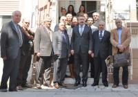 Vali Kıraç'tan Ajansımızı Ziyaret Etti