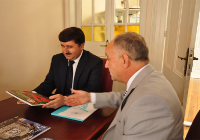 The Governor Of Amasya Valisi Abdil Celil Öz Visited Our Agency