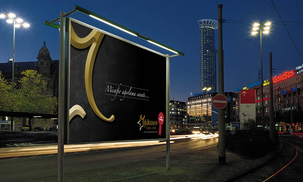 Yıldızhan Hotel Outdoor Advertising