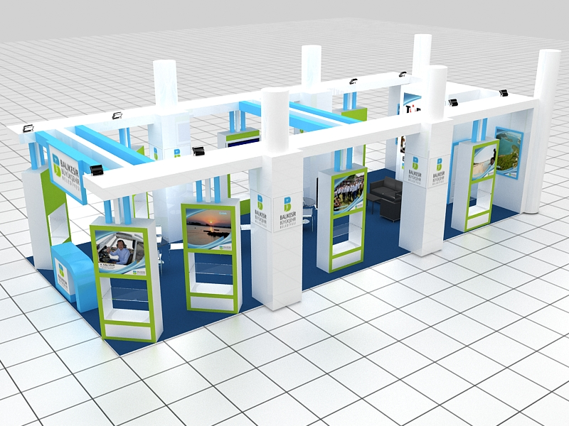 Balıkesir Metropolitan Municipality Stand Design