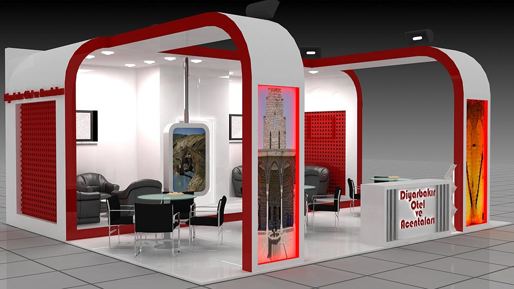 Diyarbakır Hotel and Agencies Stand Design