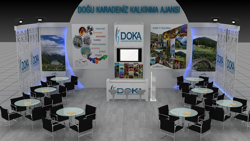 Eastern Black Sea Development Agency Stand Design