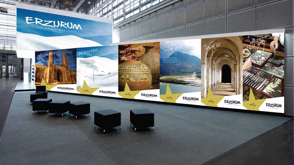 The Governorship of Erzurum Stand Designs
