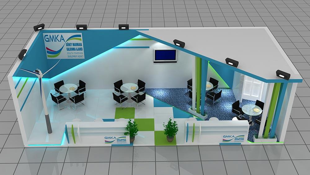 Güney Marmara Kalkınma Ajansı Stand Tasarımları