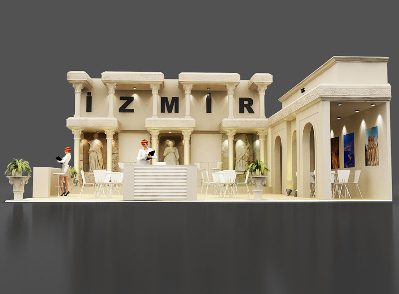 Culture and Tourism Ministry İzmir Stand Design