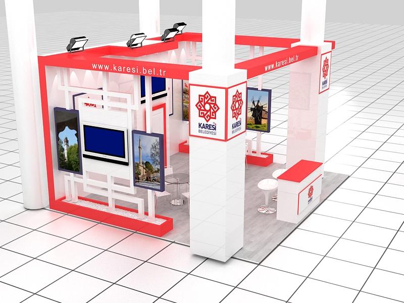 Karesi Municipality Stand Design