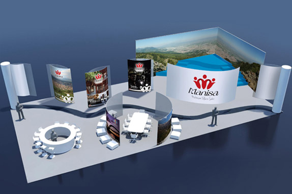 The Governorship of Manisa Stand Designs