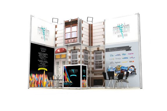 Renkli Kalem Media Group Stand Design