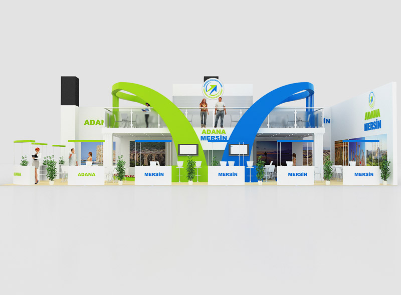Adana Mersin Stand Design
